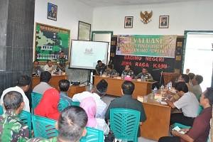 MABESAD Monitor Pelaksanaan Upsus Pertanian di Sumbawa
