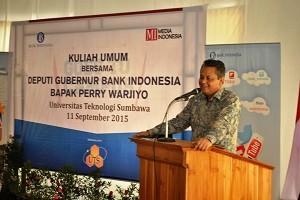 Deputi Gubernur BI Perry Warjiyo