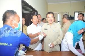 Pejabat Pemda Sumbawa Tes Urine