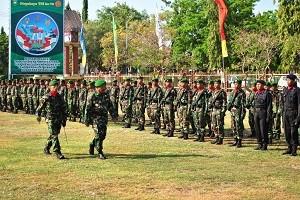 HUT TNI ke 70 di Sumbawa Besar