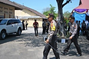 Kapolda NTB tinjau persiapan Pilkada di Sumbawa Besar