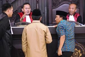 Persidangan kasus TIPILU di Pengadilan Negeri Sumbawa Besar