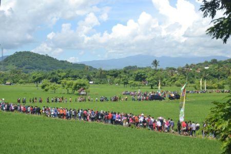 Dihadiri Ribuan Orang, Sedekah Ponan Pererat Silaturahim