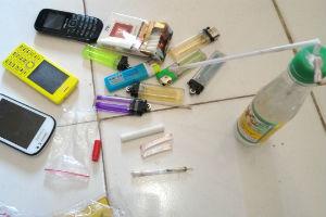 Barang bukti narkoba