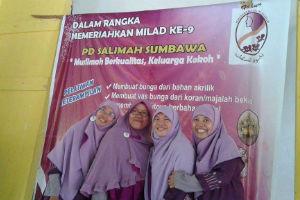 Pengurus PD Salimah cabang Sumbawa