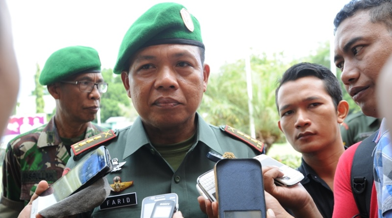 Kolonel Inf. Farid Ma'ruf MA