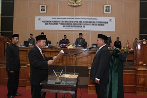 PAW DPRD Kabupaten Sumbawa budi kurniawan