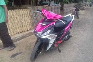 Sepeda motor yang dicuri