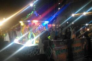 pawai malam takbir di Sumbawa