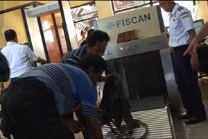 pemeriksaan bagasi penumpang