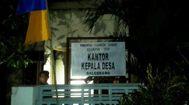 Tampak depan Kantor Desa Bale Brang