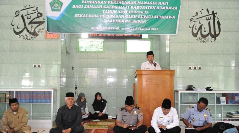 Manasik Haji bagi Jamaah CJH Kabupaten Sumbawa