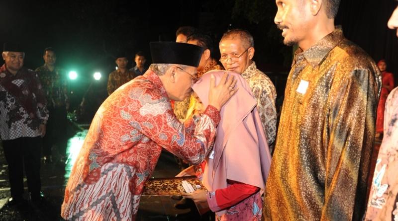 resepsi HUT Kemerdekaan RI ke 71 di Sumbawa