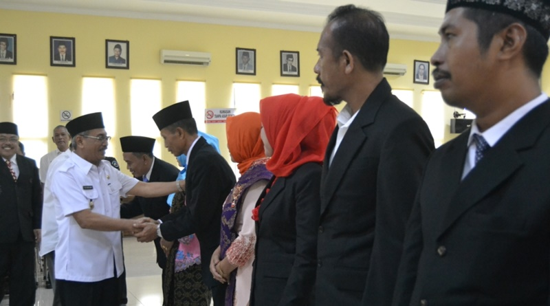 Bupati beri selamat pada anggota BNNK Sumbawa