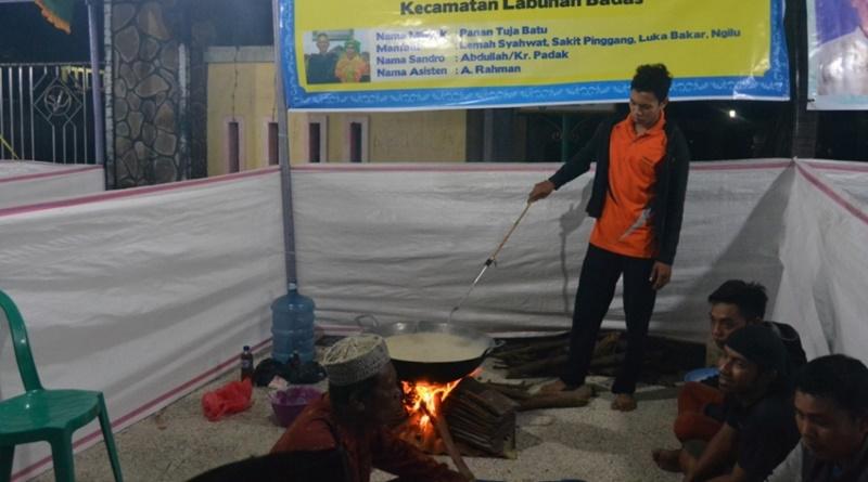 Abdullah, sandro minyak Sumbawa dari Kecamatan Labuhan Badas