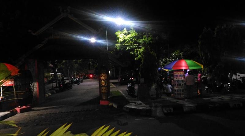 Suasana Taman Mangga dua jam sebelum kejadian