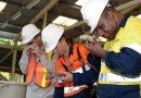 Mahasiswa Program Doktoral Universitas Tasmania Australia Kunjungi Tambang Amman Mineral