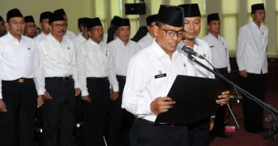 10 Pimpinan OPD Pemkab Sumbawa Dilantik