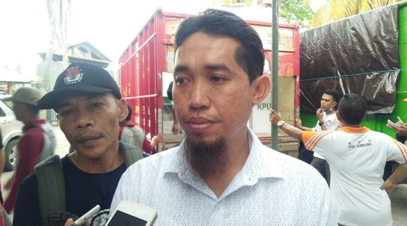 KPU Sumbawa Pastikan Logistik Pemilu Aman