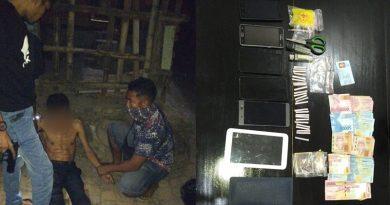 Terjerat Kasus Narkoba, 'Pak Bos' Ditangkap Polisi
