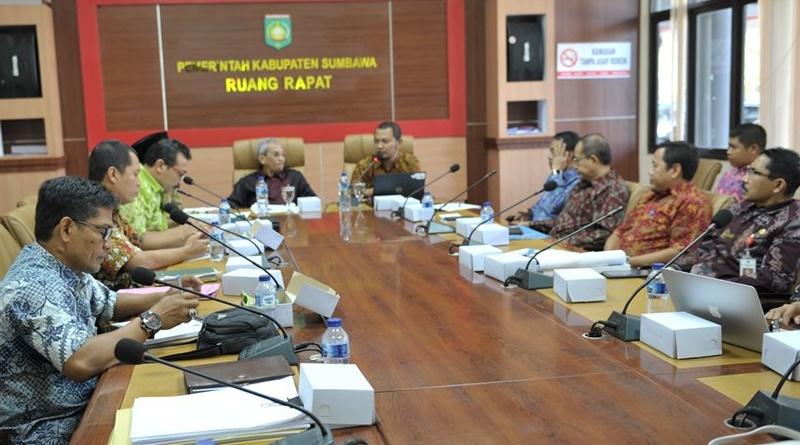 KPK Lakukan ini di Kabupaten Sumbawa
