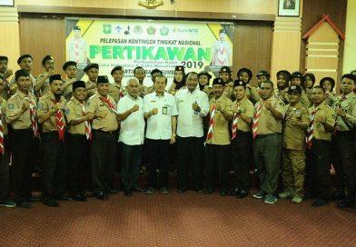 Kontingen Kwarcab Sumbawa Siap Ikuti Pertikawan 2019 di Cibubur