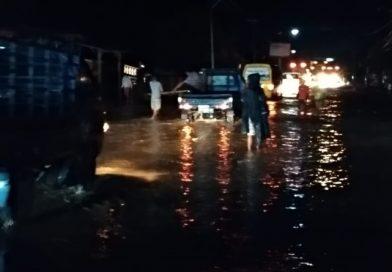 Hujan Lebat, Desa Karang Dima Terendam Banjir