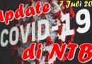 7 Juli, Bertambah 23 Positif Covid di NTB, 23 Sembuh, 6 Meninggal