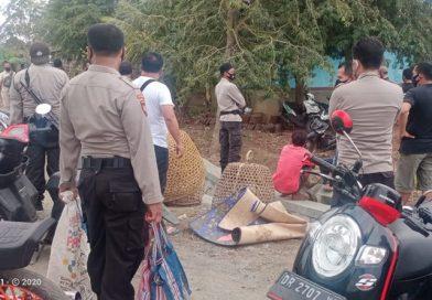 Polisi Datang, Penjudi Sabung Ayam Lari Berhamburan, 29 Motor Diamankan