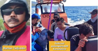 Ini Penuturan Seorang Penumpang KM Kamatarasa yang Tenggelam di Perairan Pulau Moyo