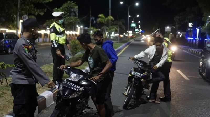 21 Sepeda Motor Terjaring Operasi Patuh Rinjani 2021 Polres Sumbawa