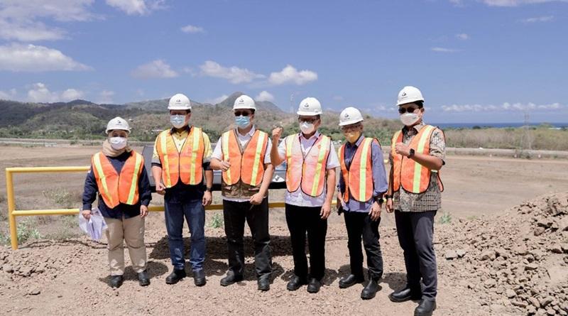 Menteri ESDM Tinjau Lokasi Proyek Smelter AMMAN di KSB