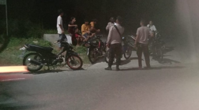 Balap Liar, 4 Remaja dan 5 Motor Berknalpot Racing Diamankan