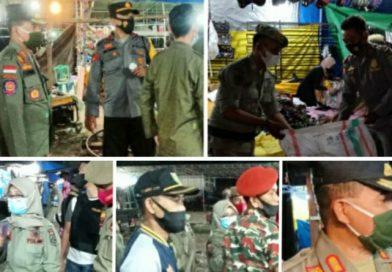 Pasar Malam di Taman Kerato Dibubarkan Timgab
