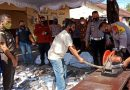 Kapok, Ratusan Knalpot Racing Dimusnahkan