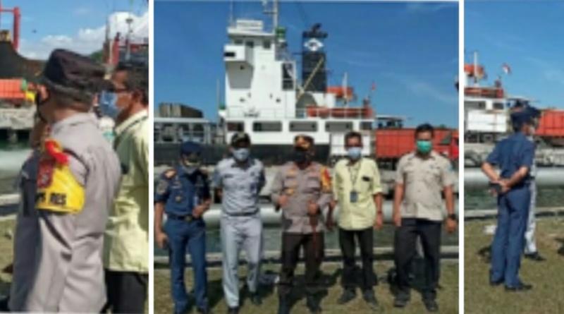 Antisipasi Dampak Penutupan Tano-Kayangan, Polres Sumbawa Perketat Pengamanan Pelabuhan Badas