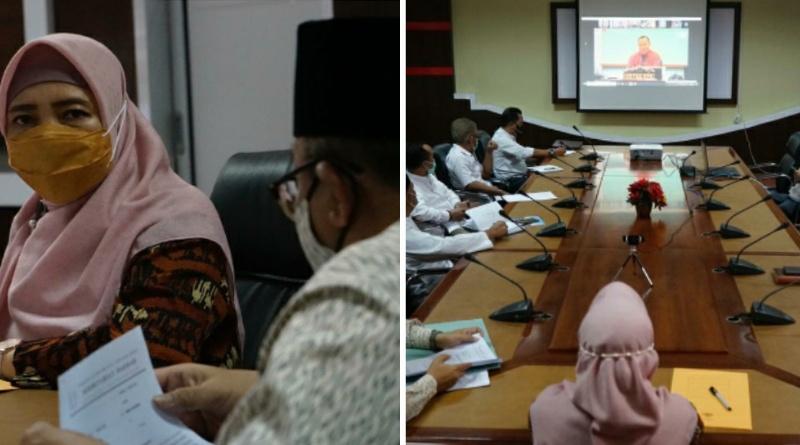 Bendung Korupsi Barang dan Jasa melalui Aplikasi BELA, Wagub NTB Rapat dengan KPK