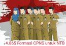 Ayo Daftar ! 4.865 Formasi CPNS untuk Pemprov NTB