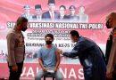 Jelang HUT Bhayangkara ke-75, Polres Sumbawa Gelar Vaksinasi Gratis terhadap 2.789 Orang