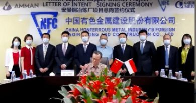 AMMAN Pilih Konsorsium NFC/NERIN sebagai Kontraktor EPC, Capaian Signifikan dalam Pembangunan Proyek Smelter
