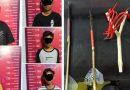 Bawa Sajam, 5 Anak Dibawah Umur Dimankan Polisi
