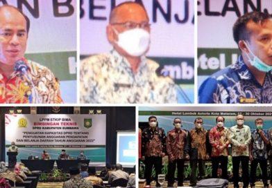 Perkuat Kapasitas dalam Penyusunan APBD, DPRD Sumbawa Bimtek ke Mataram